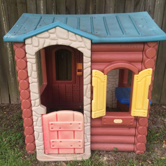 little tikes log cabin playhouse assembly instructions