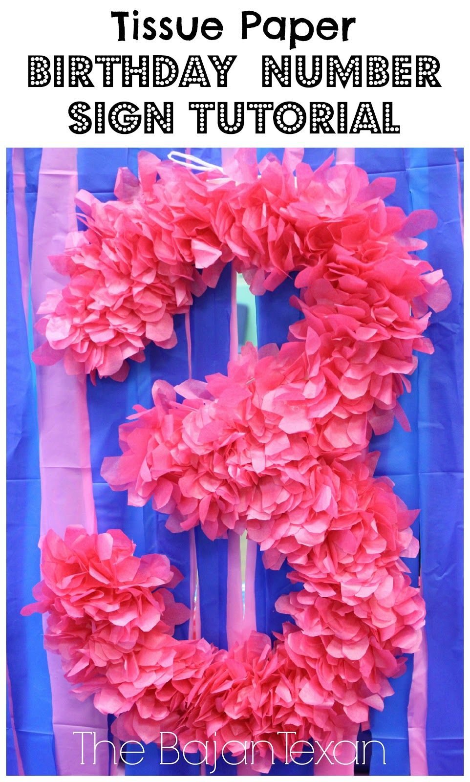 easy tissue paper flowers instructions