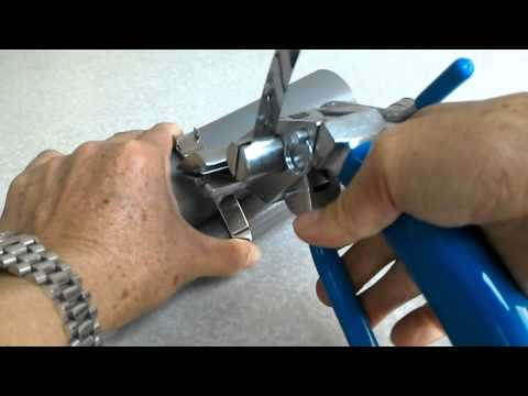stainless steel banding tool instructions