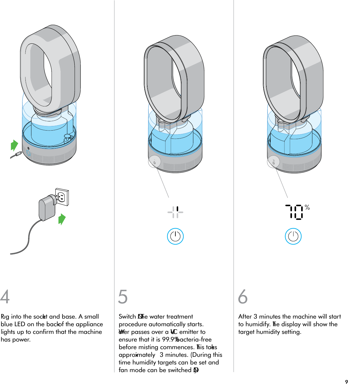 bionaire humidifier cleaning instructions
