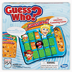 hasbro guess who instructions
