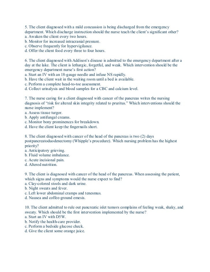 emergency room discharge instructions