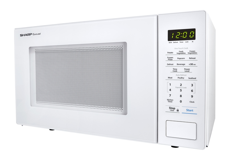 sharp carousel microwave defrost instructions