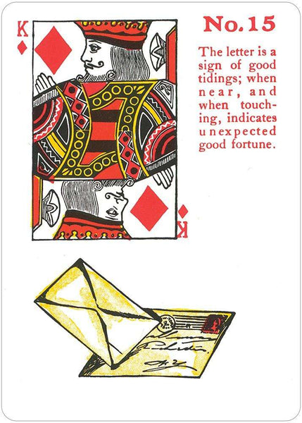 gypsy witch playing cards instructions