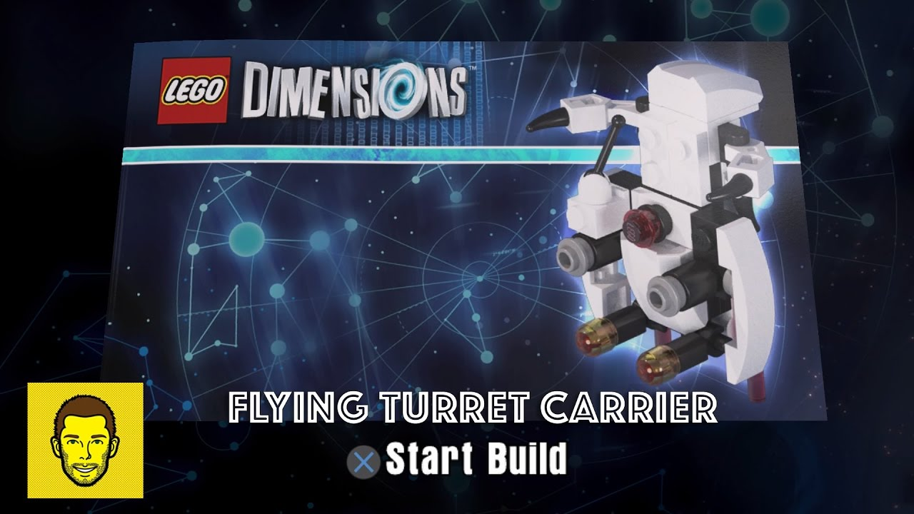 lego dimensions sentry turret instructions