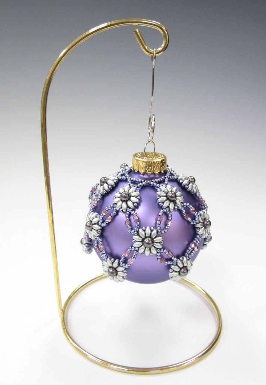 beaded ornament covers instructions