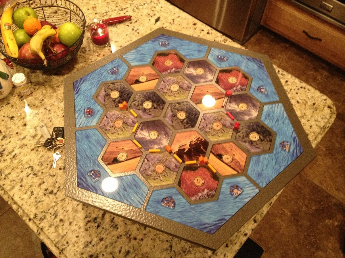 catan board game instructions