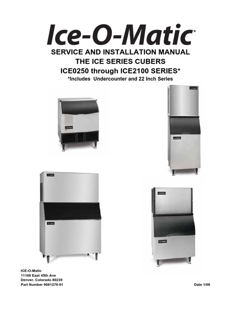 ice o matic cleaning instructions