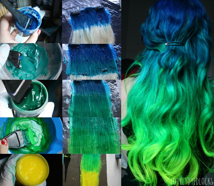 ion hair color mixing instructions