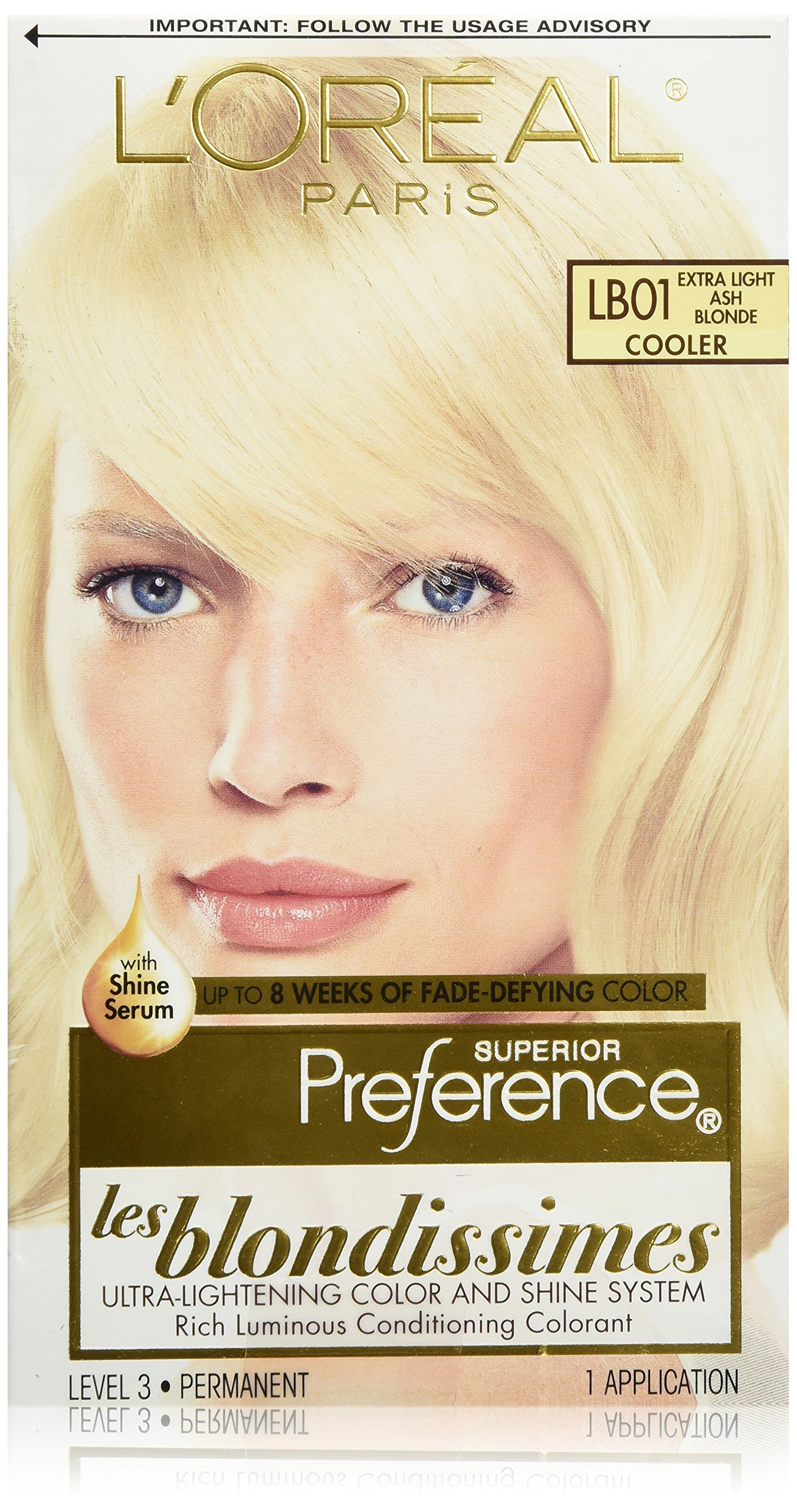 loreal color corrector blondes instructions