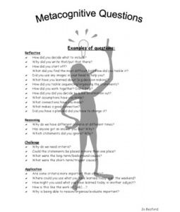 metacognition and learning strategies for instructional design
