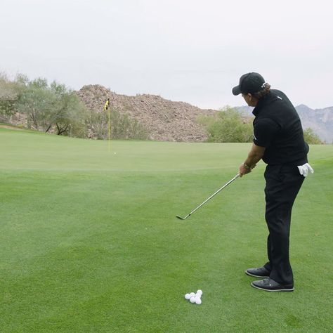 phil mickelson putting instruction