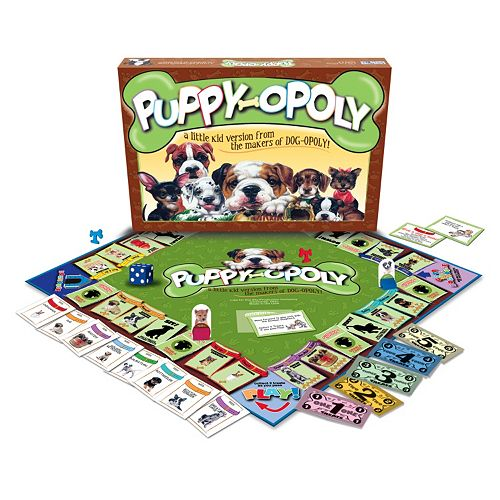 puppy opoly game instructions
