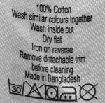what do the symbols on washing instructions mean